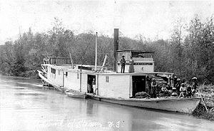 Annerly (sternwheeler) on Kootenay River 1893 BCA G-00277.JPG