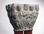 Anonyme - Chapiteau de colonnes jumelles , Les douze Apôtres - Musée des Augustins - ME 276 (1).jpg