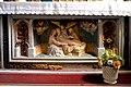 Antépendium de l'autel secondaire dans le transept sud de l'église Saint-Laurent du Mesnil-Rogues.jpg