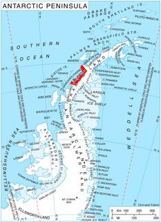 Funk Glacier glacier in Antarctica