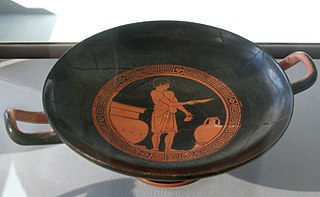 Kylix by the Providence Painter