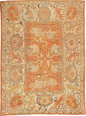 Antique Turkish Oushak Carpet.jpg