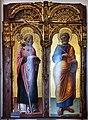 Antonio, bartolomeo vivarini e bottega, ss. nicola e pietro, 1462, 01.jpg