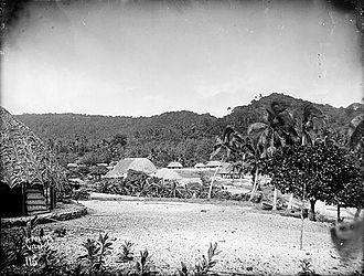 Apolima - Image: Apolima.village,Apol ima.Island.circa 1890 1910