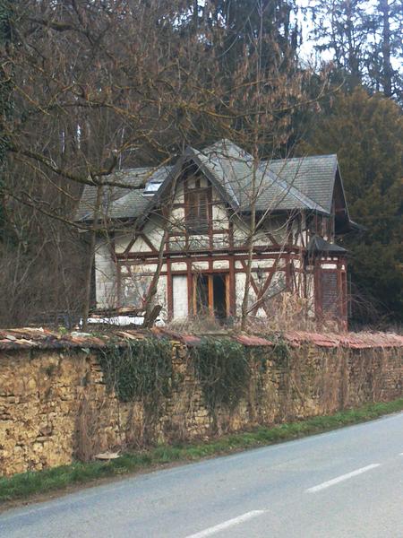 Chalet Meiner (maison du garde), Appenans, Doubs