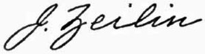 Jacob Zeilin - Image: Appletons' Zeilin Jacob signature