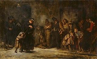 painting by Sir Luke Fildes