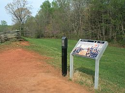 Appomattox, Chamberlain&Gordon meeting place.jpg