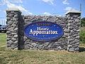 Appomattox Court House, VA, sign IMG 4178.JPG