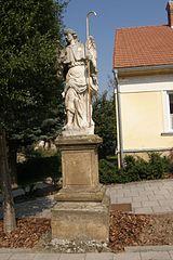 Socha archanděla Rafaela