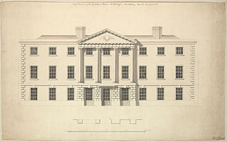 James Baillie (c. 1737–1793) - Henry Keene's drawing of Ealing Grove, Middlesex