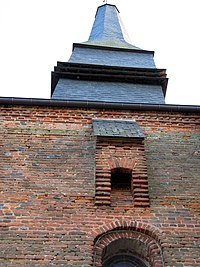 Archon église fortifiée (bretèche façade Sud) 1.jpg