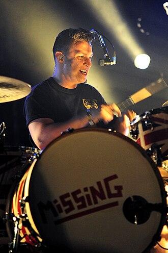 Matt Helders - Image: Arctic Monkeys @ Sir Stewart Bovell Park (7 1 12) (6693049021)