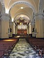 Arequipa's cathedral, inside view, rear area.jpg
