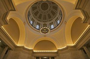 Arkansas State Capitol - Image: Arkansas State Capitol Dome Interior