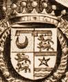 Arms of Claude de Mesmes comte d'Avaux engraved by Paulus Pontius.png