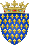 Arms of the Kingdom of France (Ancien).svg