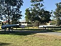 Armstrong BL 6 inch gun Mk V at entrance to Fort Lytton, Brisbane 02.jpg