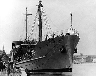 Ship prefix - Image: Army Cargo Vessel FP 344