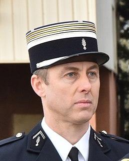 officer in the French gendarmerie
