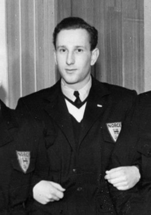 Arne Hoel - Hoel as a reserve at the 1948 Winter Olympics.