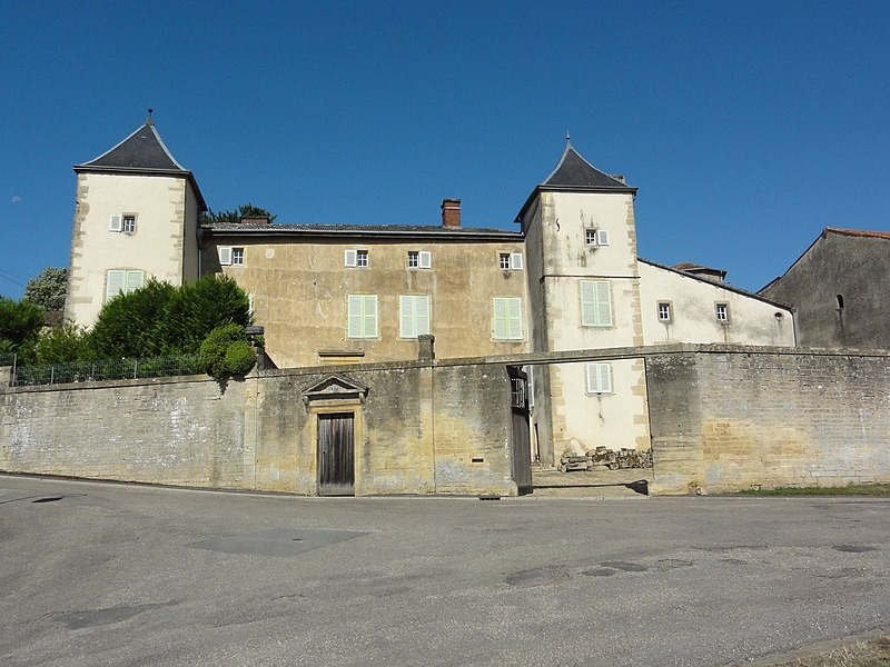 Arrancy-sur-Crusne (Meuse) château
