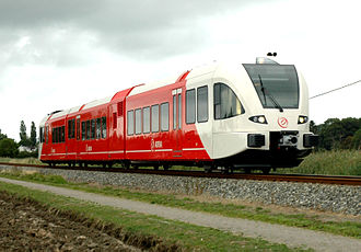 Trains in the Netherlands - Arriva (Spurt) GTW