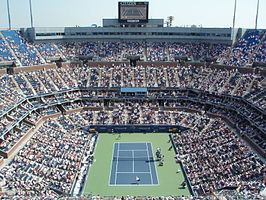 Het Arthur Ashe Stadium (Center Court)