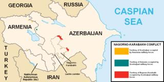 Nagorno-Karabakh conflict Conflict between Armenia and Azerbaijan