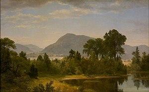 Heckscher Museum of Art - Image: Asher B. Durand Keene Valley (1860s)