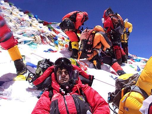 Ashish mane Everest summit
