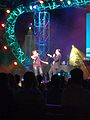 Ashley Brown and Josh Strickland at Epcot's Arts Festival (32279500902).jpg