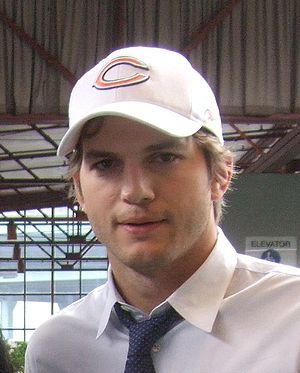 Ashton Kutcher, September 2008