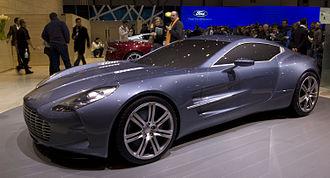 Marek Reichman - Aston Martin One-77, designed by Marek Reichman