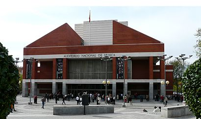 How to get to Auditorio Nacional De Música with public transit - About the place