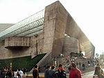 Auditorio Nacional sobre el Paseo de la Reforma