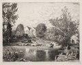 Auguste Louis Lepère - The Old Footbridge - 1920.616 - Cleveland Museum of Art.tif