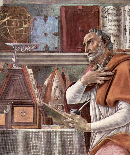 Botticelli's Augustine of Hippo, 1490.