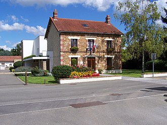 Aulnay-sur-Mauldre - Town hall