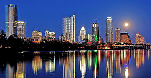 Greater Austin - Image: Austin Skyline Lou Neff Point 2010 03 29 b