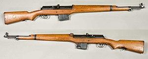 Ag m/42 - 6.5 mm Automatgevär m/1942B