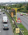 Average speed cameras at roadworks - geograph.org.uk - 938662.jpg