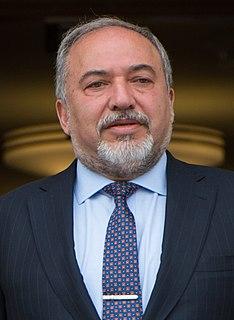 Avigdor Lieberman Israeli politician