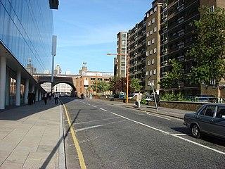 major street in the London Borough of Southwark