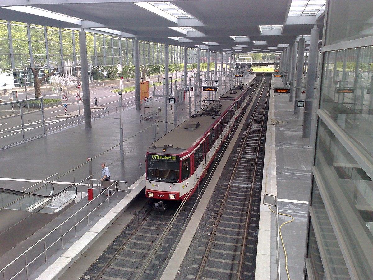 U Bahnhof Esprit Arena Messe Nord Wikipedia