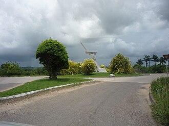 Belmopan - Belmopan Regional Language Center Monument