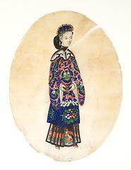 Figura femenina oriental