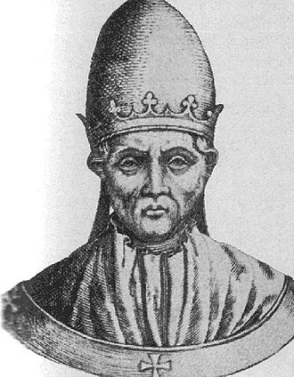Papal renunciation - Image: B Colestin V