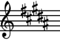 B Major key signature.png