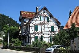 Hindenburgstraße in Bad Liebenzell